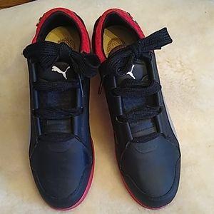 Puma Scuderia Ferrari Leather Sneakers